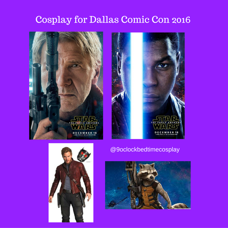 Cosplay for Dallas Comic Con 2016