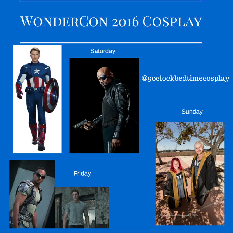 Cosplay sched