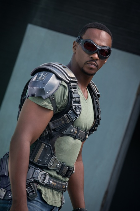 Marvel's Captain America: The Winter Soldier Falcon/Sam Wilson (Anthony Mackie) Ph: Zade Rosenthal © 2014 Marvel. All Rights Reserved.