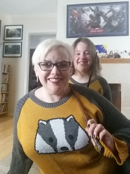 Outfit of the Day: Hufflepuff Sweaters