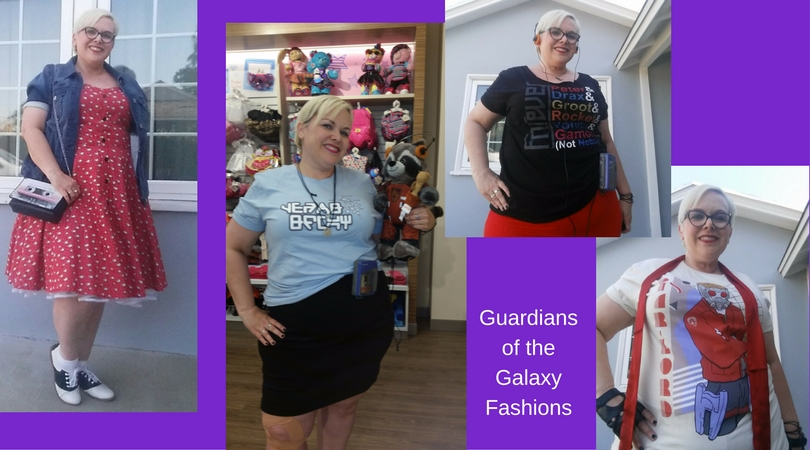 Outfit of the Day: Guardians of the Galaxy Fashions