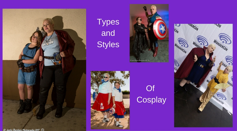 Types and Styles of Cosplay