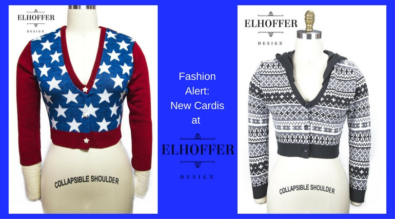 Fashion Alert: New Cardis from Elhoffer Design