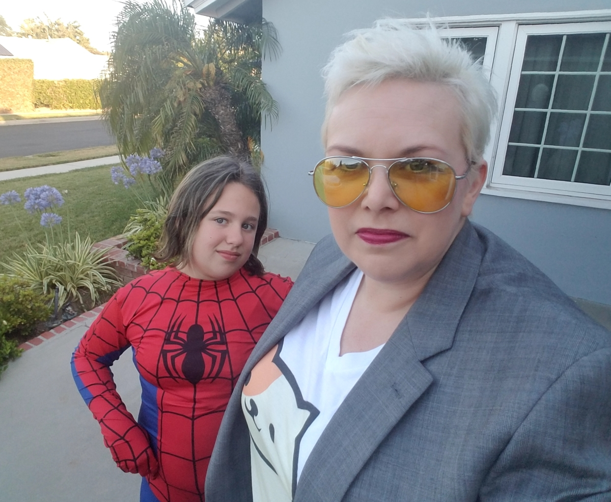 Spidey and Stark Cosplays