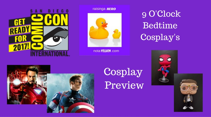 9 O'Clock Bedtime Cosplay's SDCC Cosplay Preview