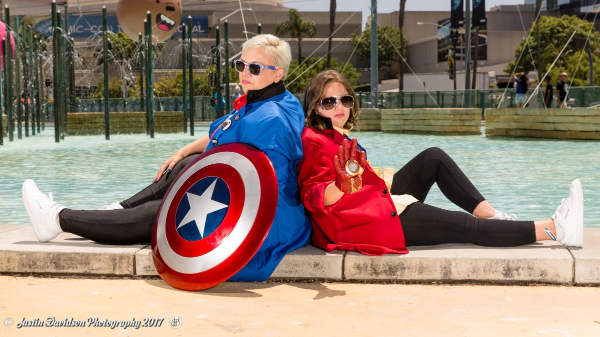 New Wave Avengers Cosplay