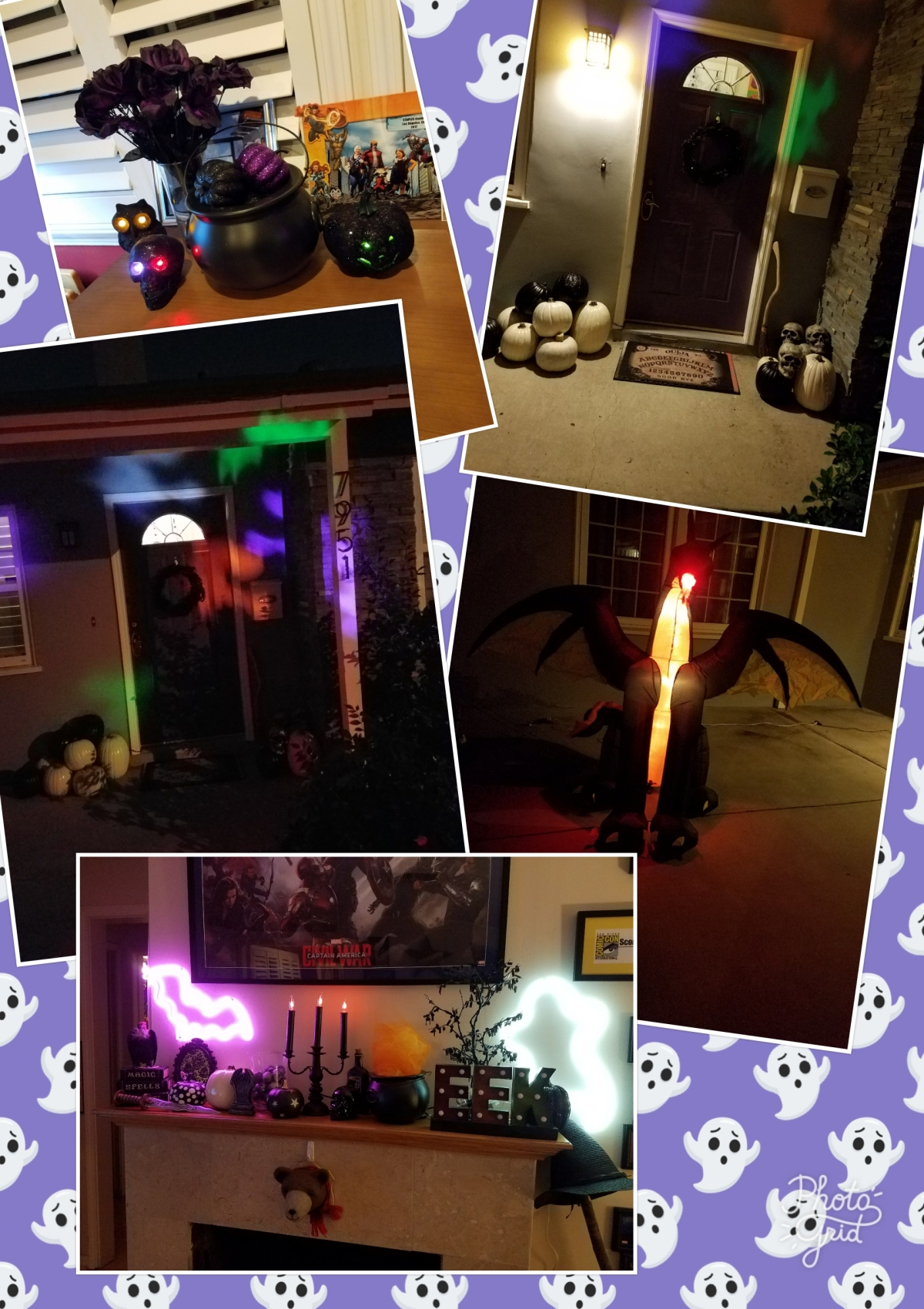 It is Never Too Early to Decorate forHalloween!