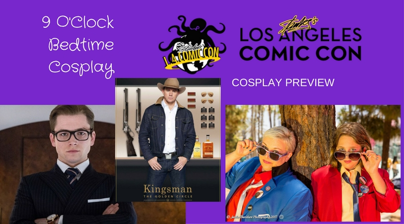 9 O'Clock Bedtime Cosplay is going to Stan Lee's LA ComicCon
