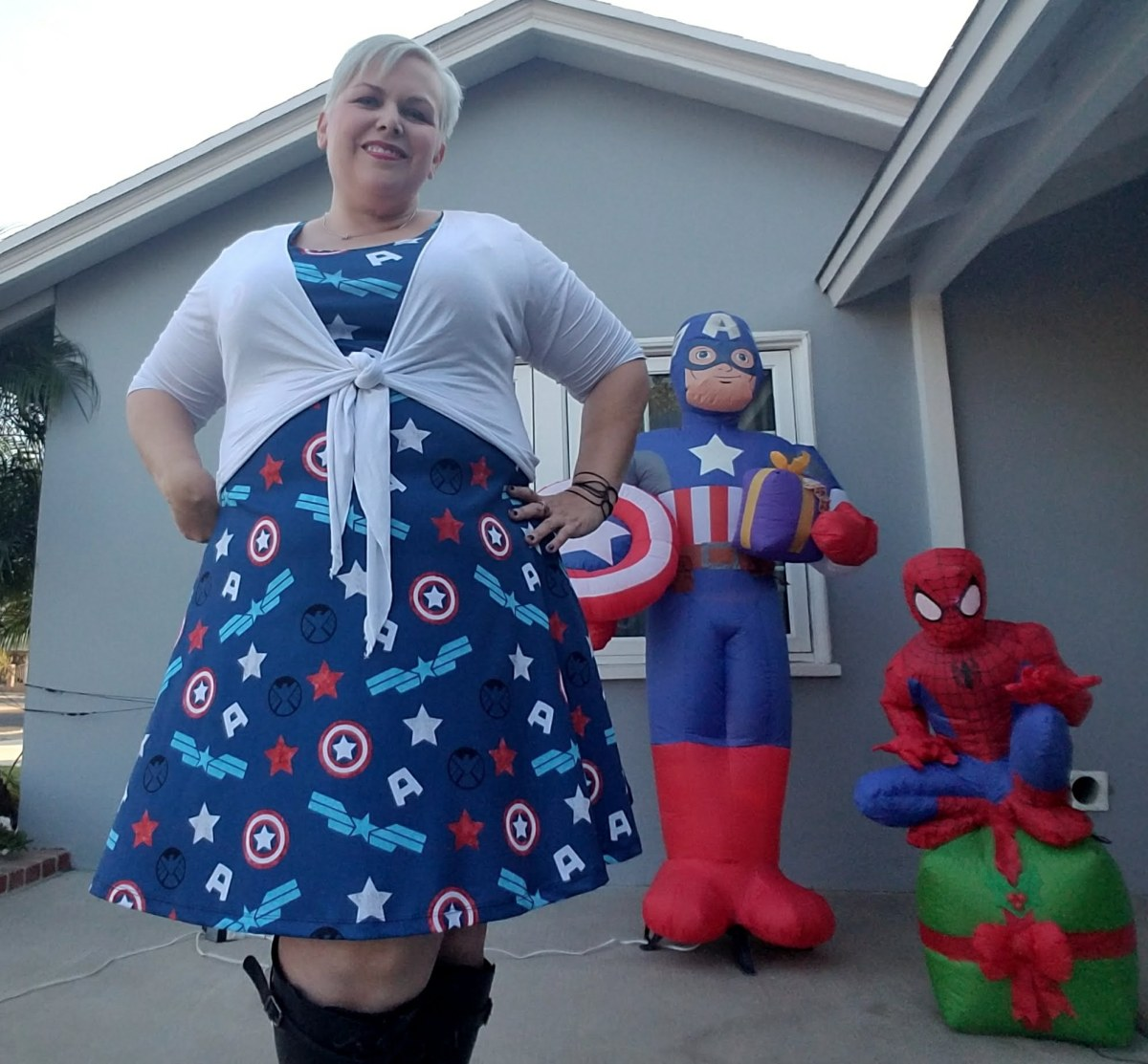 Outfit of the Day: Cap Shield Dress