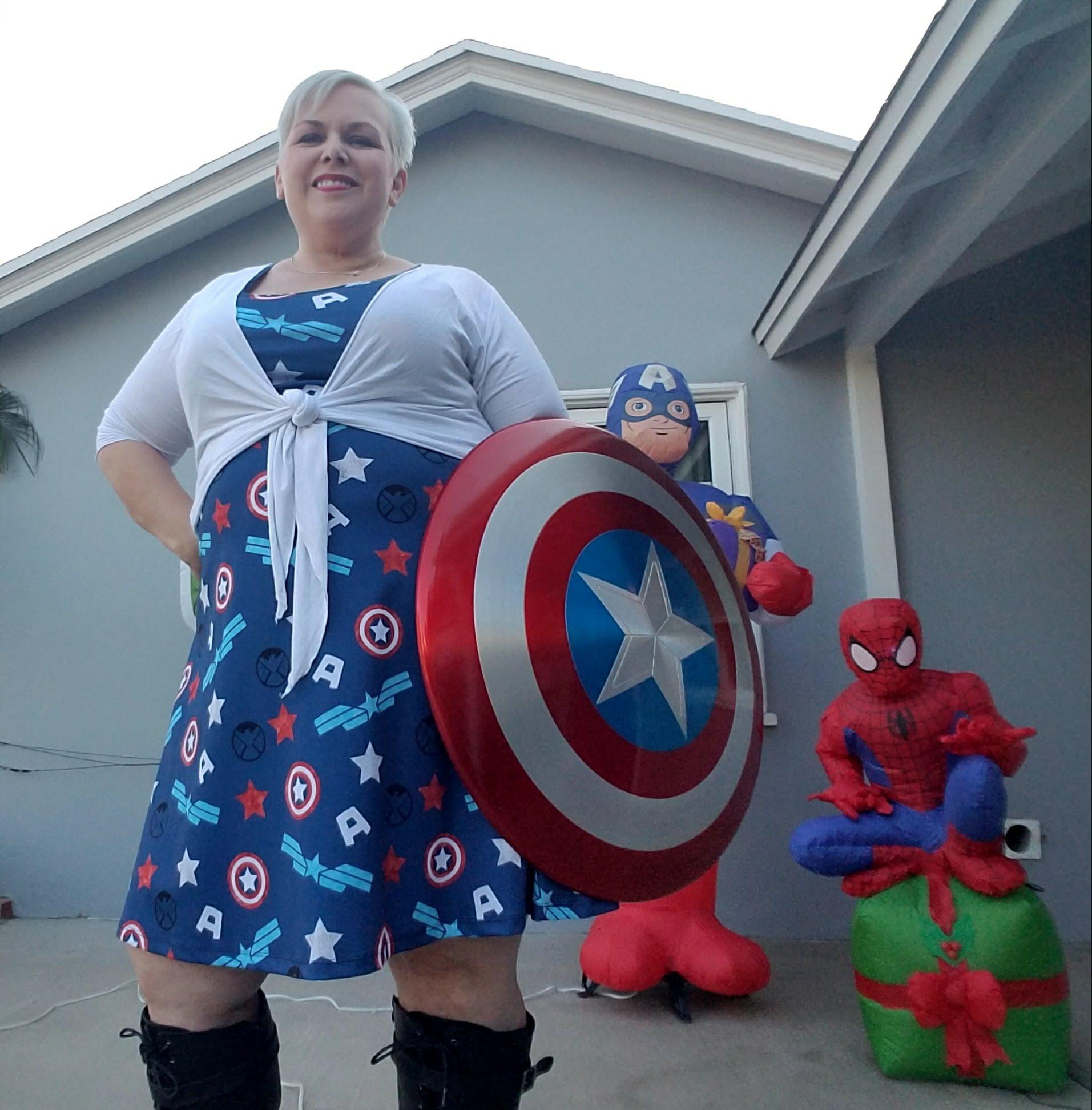 20171219_154341  sc 1 st  raisingaheronotavillain.com & Outfit of the Day: Cap Shield Dress u2013 raisingaheronotavillain.com