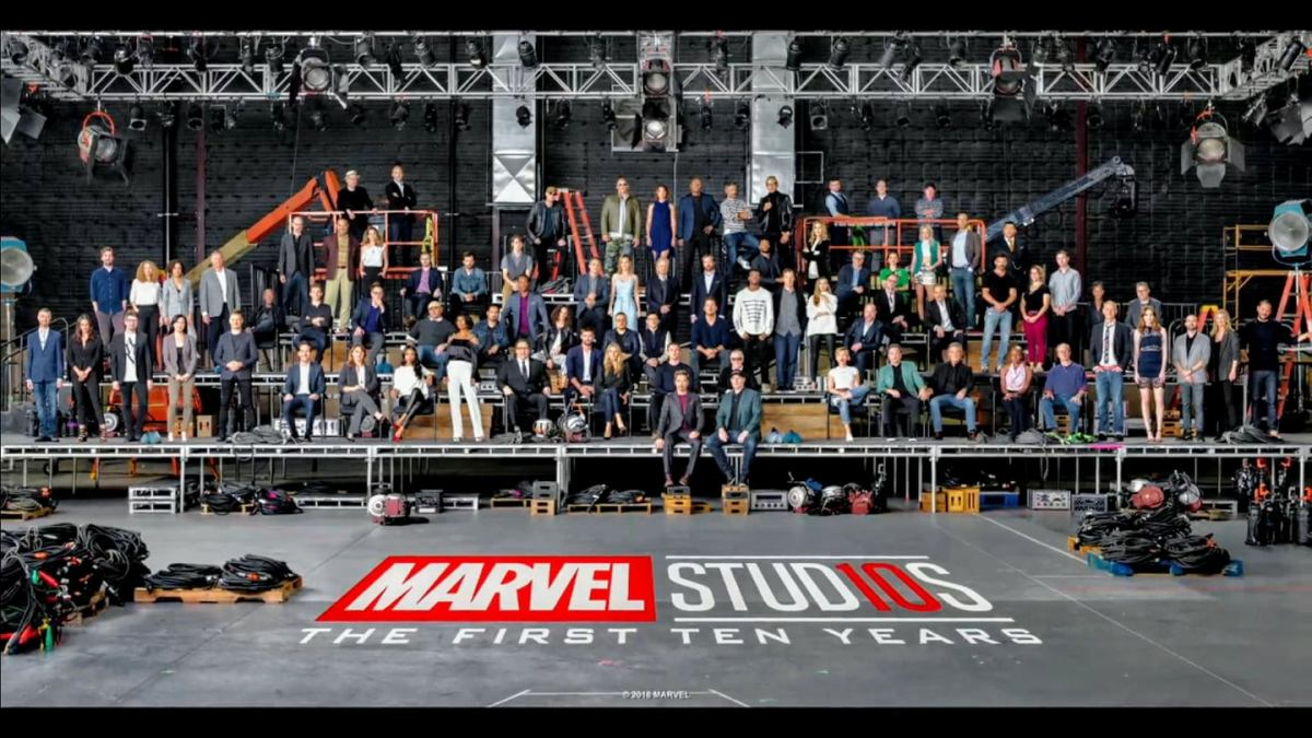 Happy 10th Anniversary Marvel Studios!