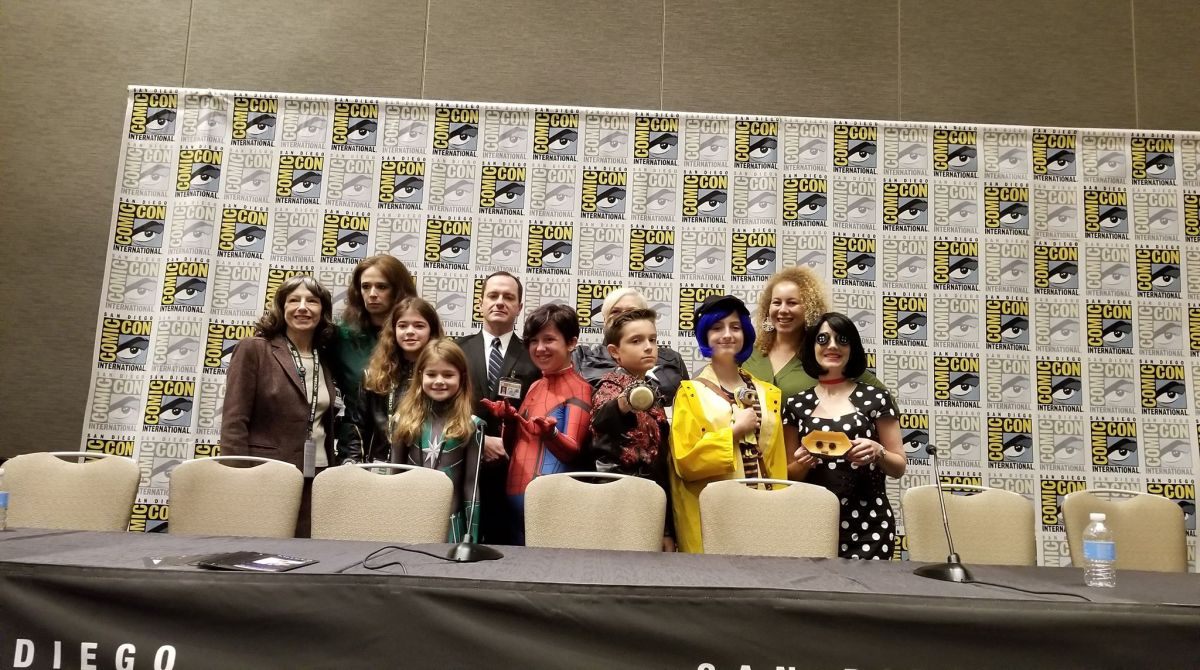 SDCC Recap: Cosplaying With Your Kids Panel