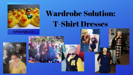 Wardrobe Solutions: T-Shirt Dress