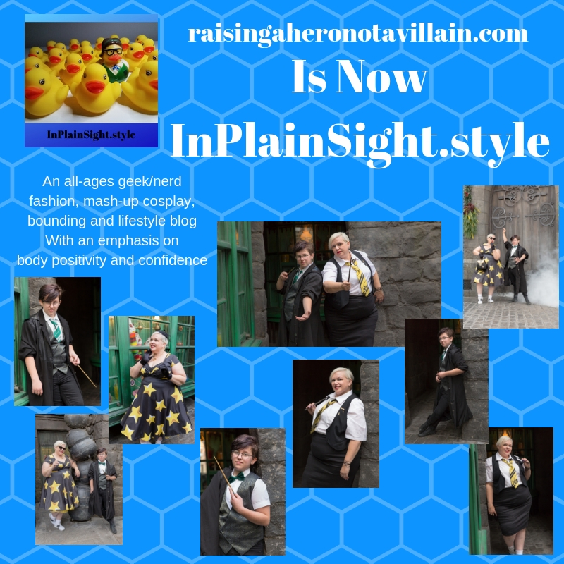raisingaheronotavillain is now InPlainSight.style!
