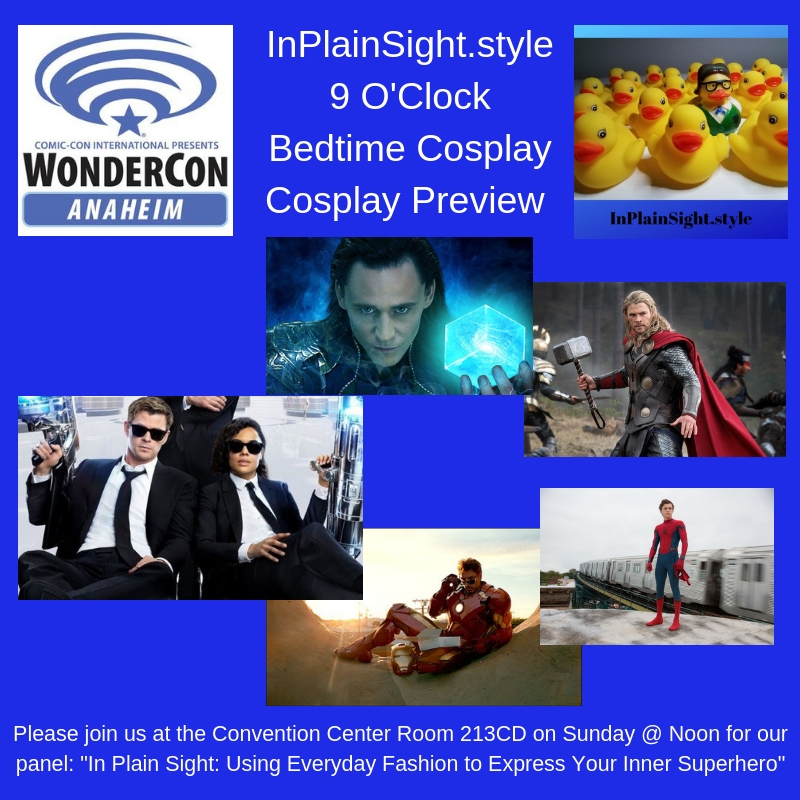 InPlainSight.style is going to WonderCon!