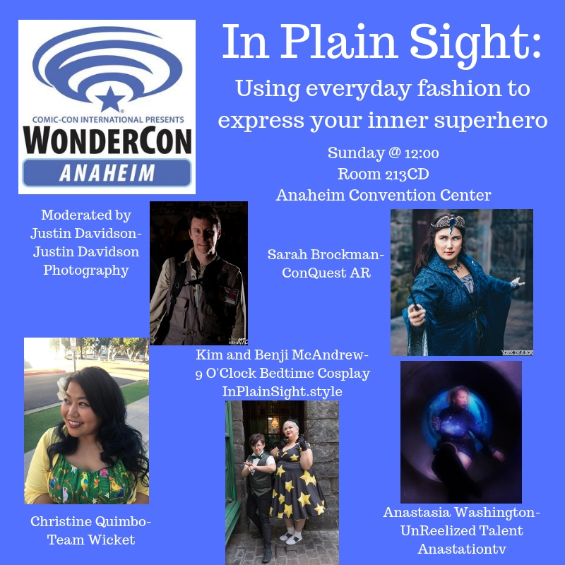 InPlainSight.style's Panel at WonderCon