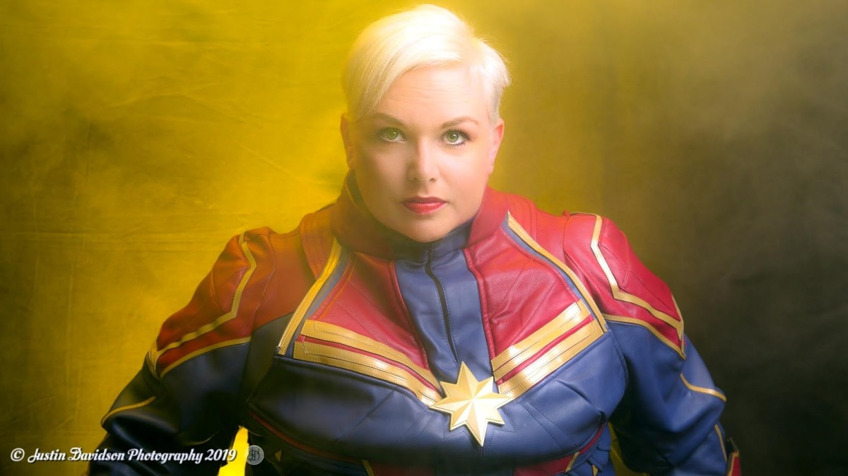 Captain Marvel Cosplay Pro Photos
