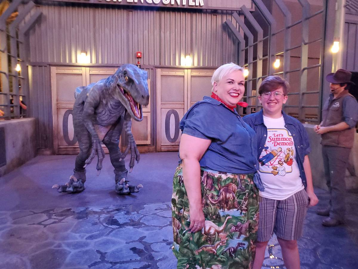A Trip to Jurassic World in My Alan Grant Bound