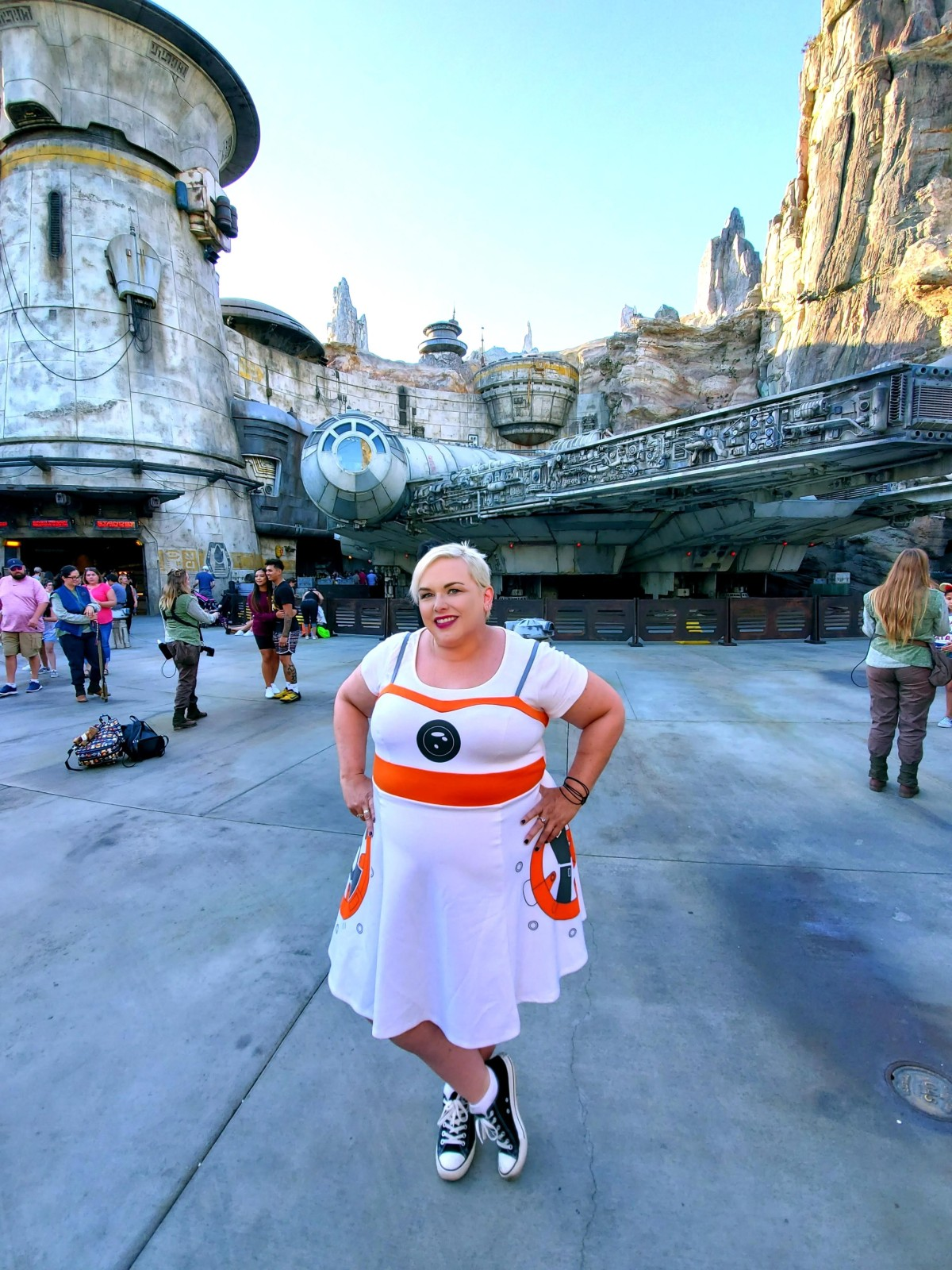 Outfit of the Day: BB8 Dress from Her Universe for Torrid