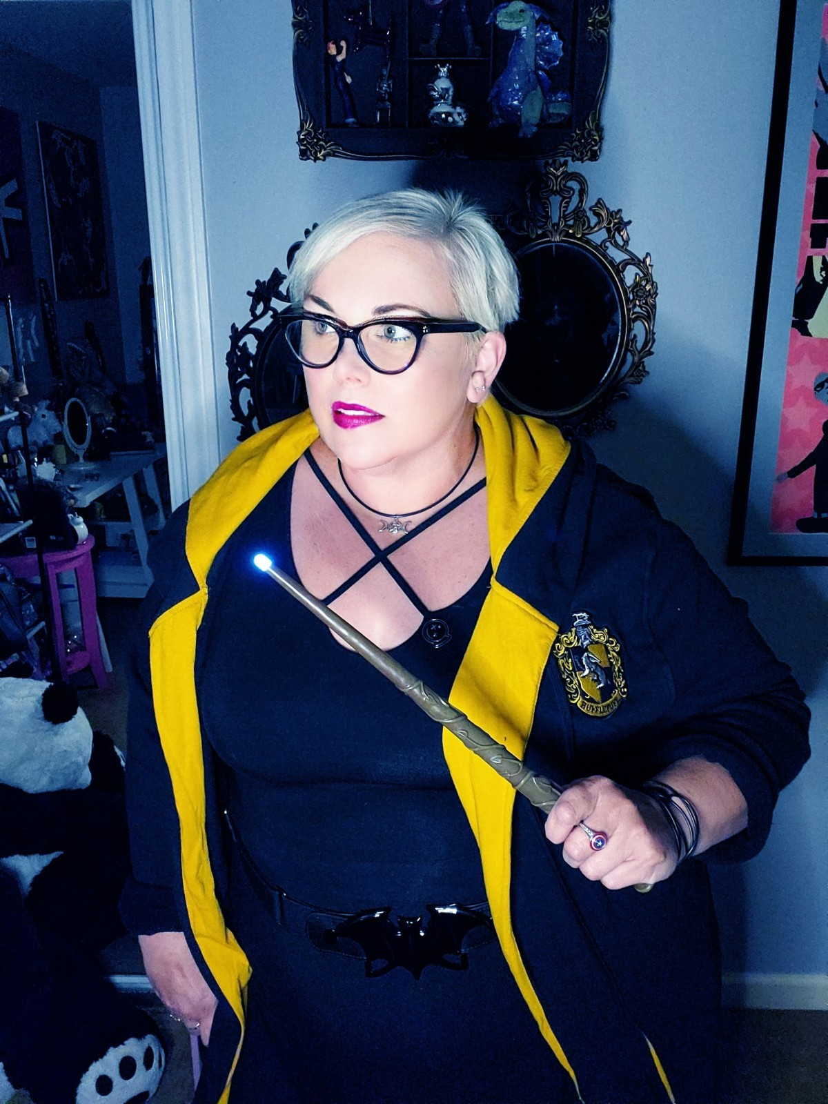 Outfit of the Day: Hogwarts House Robes by Our Universe