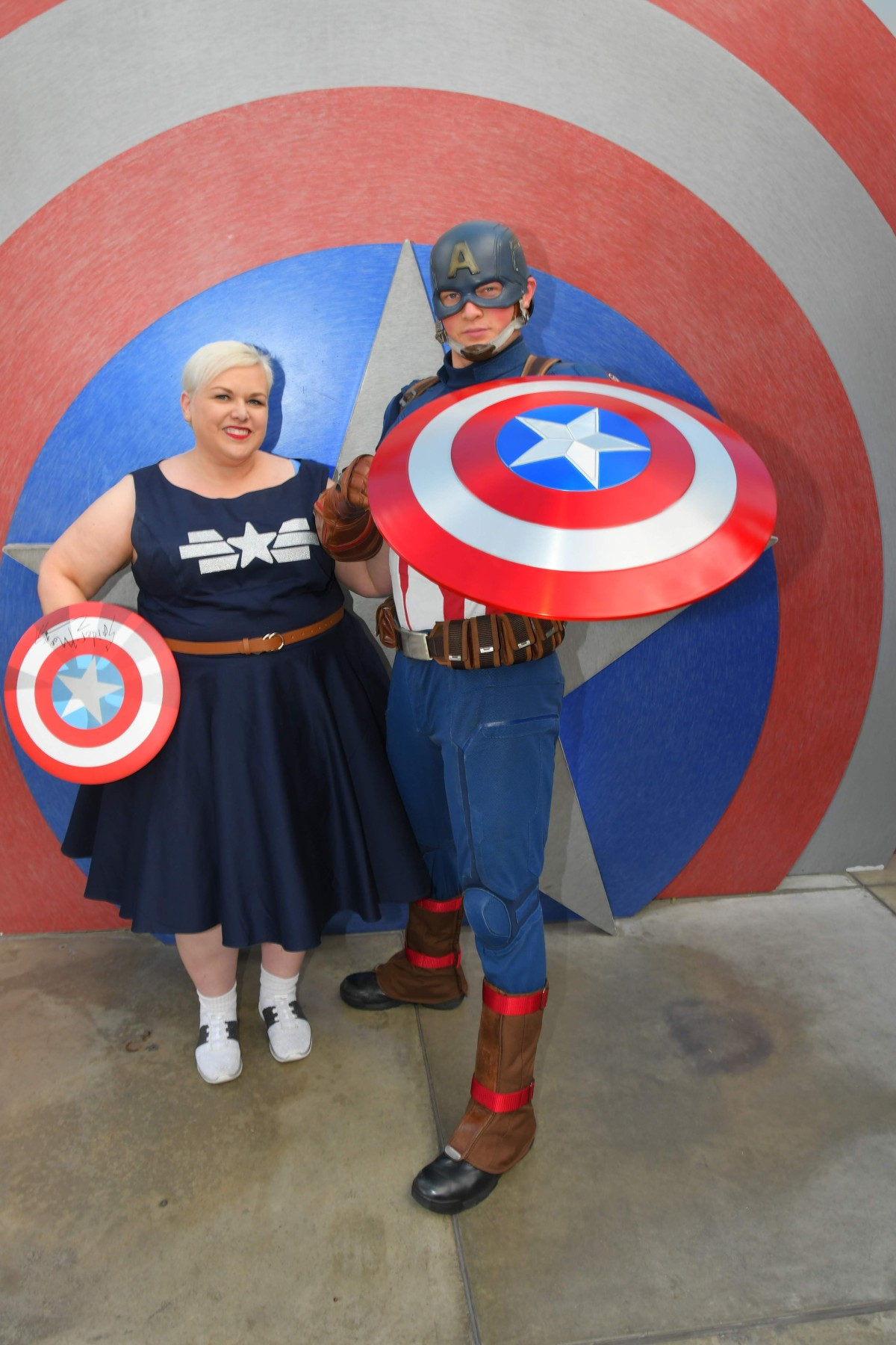New Dapper Bound: Captain America Stealth Dress