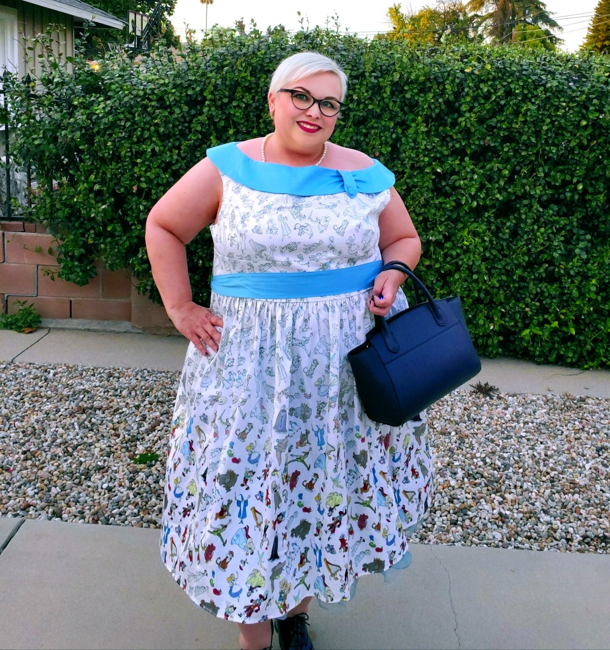 Outfit of the Day: Ink & Paint Dress from Disney DressShop