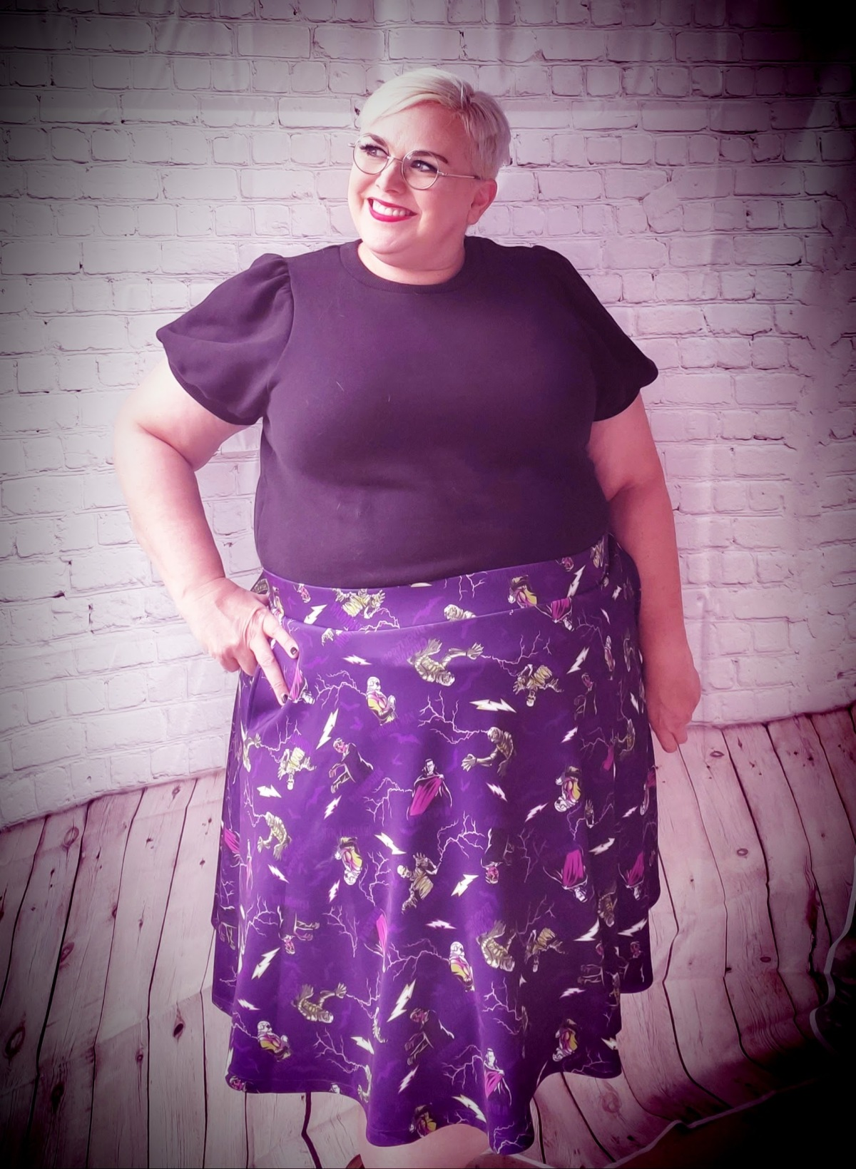 Outfit of the Day: Classic Monster Skirt from Torrid